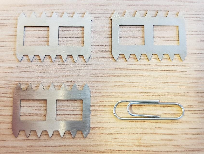 wycinanie laserowe niewielkich detali w metalu